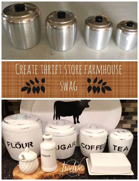 farmhouse kitchen canisters 35 best diy farmhouse kitchen decor projects and ideas