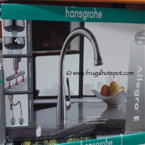 Hansgrohe Allegro E Kitchen Faucet Leaking by Costco Sale Hansgrohe Allegro E Gourmet Kitchen Faucet