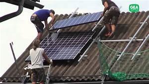 Photovoltaikanlage Selber Bauen : von 0 auf 20kwp in einer minute eine gea photovoltaikanlage entsteht youtube ~ Whattoseeinmadrid.com Haus und Dekorationen