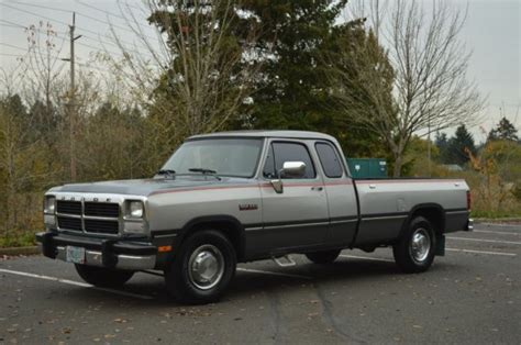 how things work cars 1993 dodge d250 club navigation system 1993 dodge ram d250 club cab 12 valve 5 9l cummins 5 speed manual 120 029 miles for sale