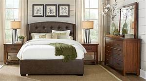 Urban Plains Brown 5 Pc King Upholstered Bedroom - King
