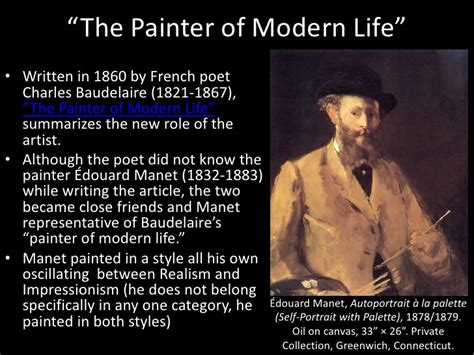 painter of modern baudelaire lecture ii realizing modernity