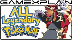 All Legendary Pokémon Locations in Pokémon Omega Ruby ...  Legendary