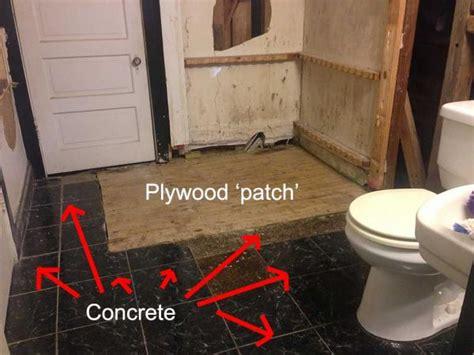 filling deep gaps   floor  plywood