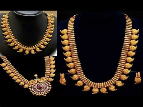 lightweight kerala jewellery designs youtube