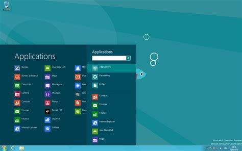 bureau windows 8 avec start8 windows 8 retrouve menu démarrer