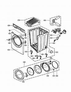 Lg Dlg5988bm Dryer Parts