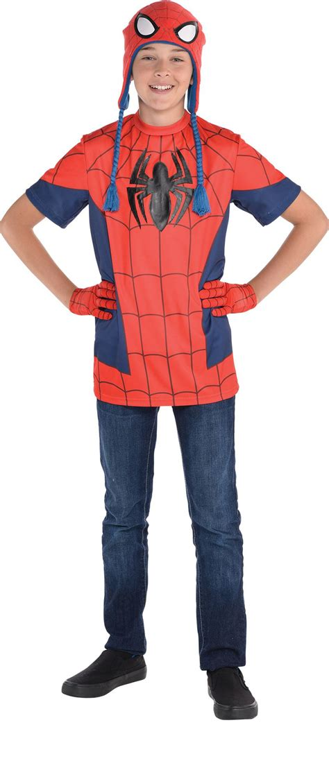 make your own costume create your own boys spiderman costume accessories party city