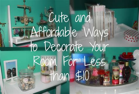 how to decorate your room cute and affordable ways to decorate your room for less than 10 youtube