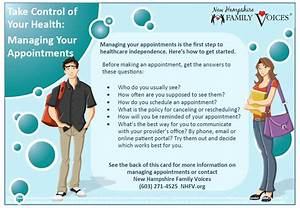 Take Control Of Your Health  Managing Your Appointments