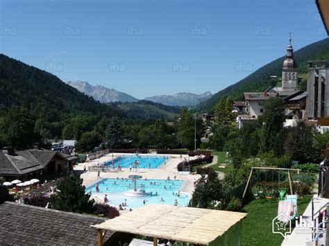 chalet for rent in a property in le grand bornand iha 13269