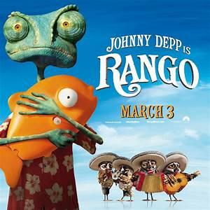 Pin Rango The Chameleon From Cg Animated Movie Wallpaper ...
