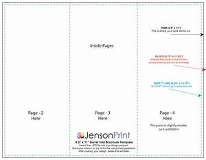 85 x 11 tri fold brochure template arts arts With 8 5 x11 brochure template