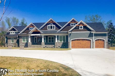 mountain craftsman   master suites jd architectural designs house plans