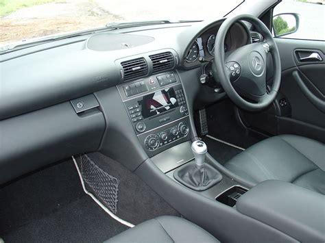 Mercedes C Class Coupe Modification by Used Mercedes C Class Sports Coupe 2001 2008