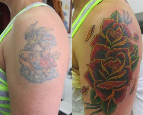 amazing cover  shoulder tattoos
