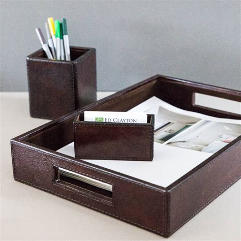 leather desk accessories attractive leather desk accessories all office desk design