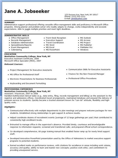 admin asst resume quotes for administrative executive quotesgram