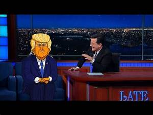 Cartoon Donald Trump Tells Stephen Who Started It - YouTube