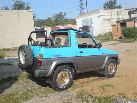1990 daihatsu rocky 1990 daihatsu rocky for sale 1600cc gasoline manual