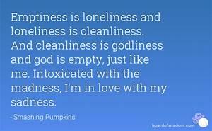 Emptiness Quotes QuotesGram
