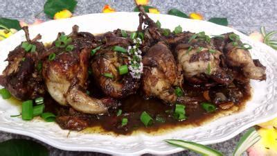 caille cuisine cailles au vin supertoinette la cuisine facile