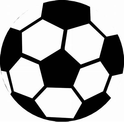 Soccer Ball Background Clipart Illustration Clip Outline
