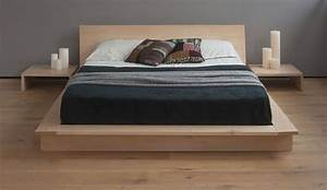 Kondo japanese platform bed also beds interallecom for Japanese futon platform bed