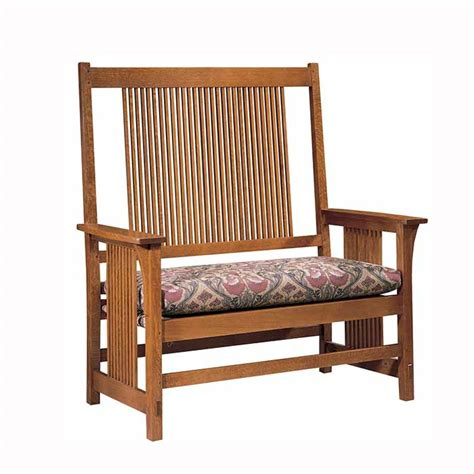 Stickley Settee by Mission Beds Stickley Furniture