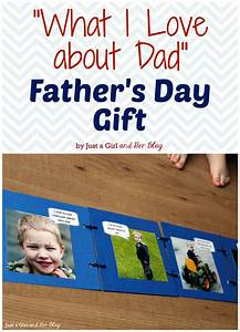 """""""What I Love about Dad"""" Father's Day Gift - Just a Girl ..."""