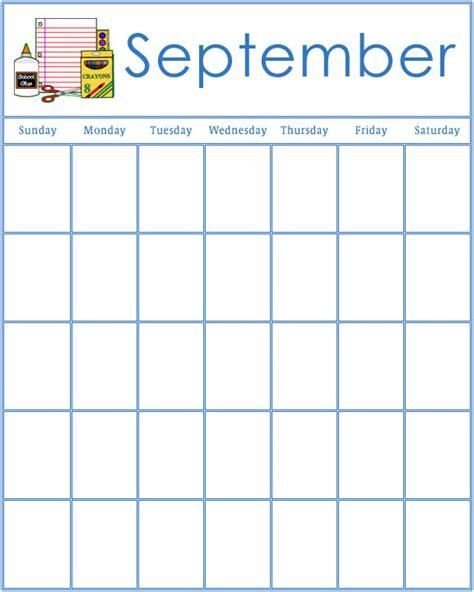 preschool calendars 994 | preschool september