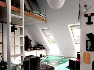Chambre Sous Les Combles : am nager un grenier en pi ce habitable ~ Melissatoandfro.com Idées de Décoration