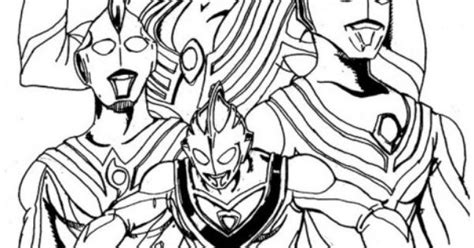 Best Ultraman Coloring Page