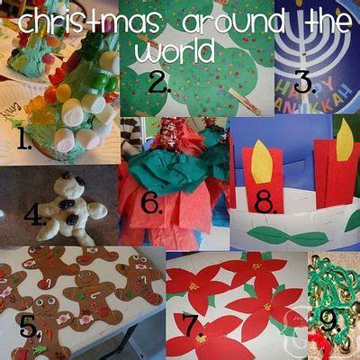 preschool craft ideas christmas around the world