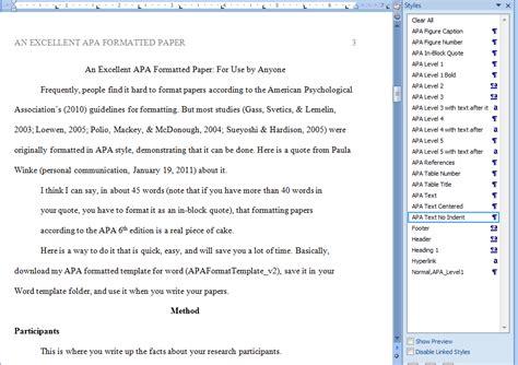 write  paper   format   ed