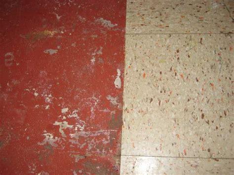 removing  basement tiles  vis glue holding