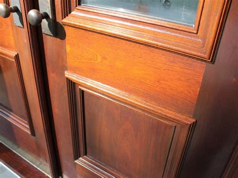 mahogany front door refinishing monks home improvements