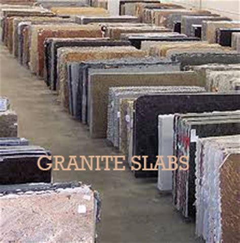 cutting of granite slabs