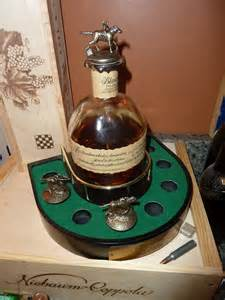 Bourbon Blanton's Horse Corks Display