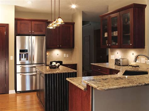 upscale contemporary kitchen upgrade american wood reface