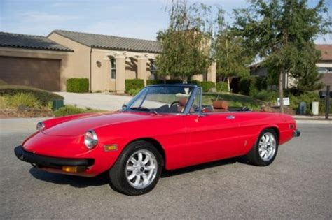 1976 Alfa Romeo Spider by Sell Used 1976 Alfa Romeo Spider Veloce Juliet In
