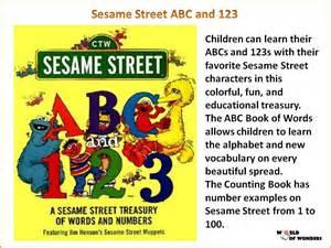 Sesame Street ABC and 123 Book