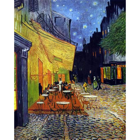 jigsaw puzzle 5000 pieces wooden gogh cafe terrace by puzzle michele