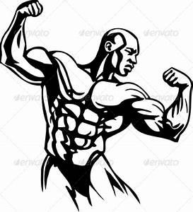 Bodybuilding Logos Graphic Design » Tinkytyler.org - Stock ...