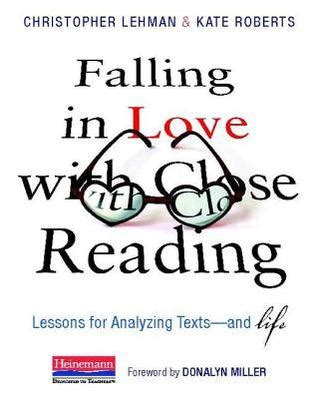 falling  love  close reading lessons  analyzing