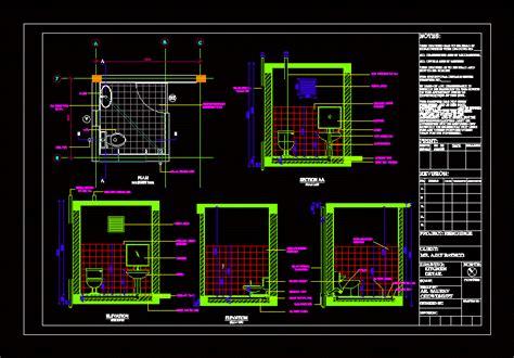 toilet details  autocad cad   kb