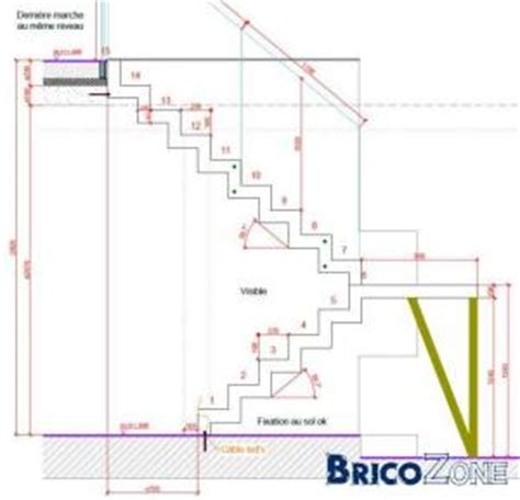 calcul d un escalier demi tournant besoin d avis