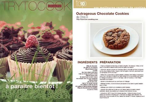 exemple de recette de cuisine trytocook magazine sort bientot trytocook food opinion