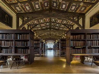 Library Oxford Bodleian Interior Duke Humfrey Wiki