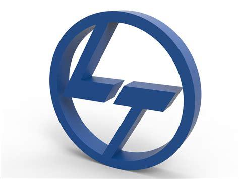 Logo 3d by L T 3d Logo 3d Cad Model Library Grabcad
